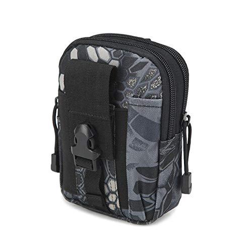 EDCR Kit de Mochila Riñonera de Viaje Mochila de Viaje Mochila Senderismo Desierto Acampar al Aire Libre Escalada Trekking Bolsas-pitón