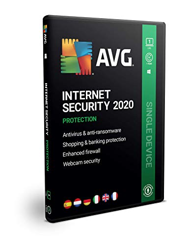 AVG Internet Security 2020 | 1 PC | 1 Año | En Caja