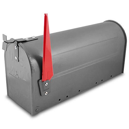 US Mailbox Amerikanischer Briefkasten Standbriefkasten Wandbriefkasten Letterbox Graphit