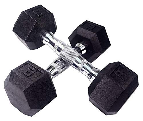 ZHENG Mancuernas Inicio Fitness Formación Personal Estudio Fitness Equipos De Fitness (Color : 8lb)