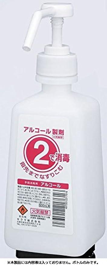 ポット守る推測するサラヤ 2ボトル 噴射ポンプ付 手指消毒剤用 薬液詰替容器 500ml×12本