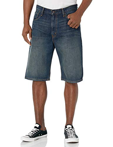 Levi's Men's 569 Loose Straight Denim Shorts, Springstein, 38