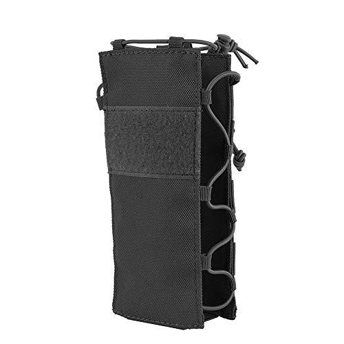 Outdoor Military Molle Tasche Camping Wasserflasche Tasche Open Top Überleben Wasserkocher Halter 600D Polyester wasserdichte Reise Kits (Color : 05)