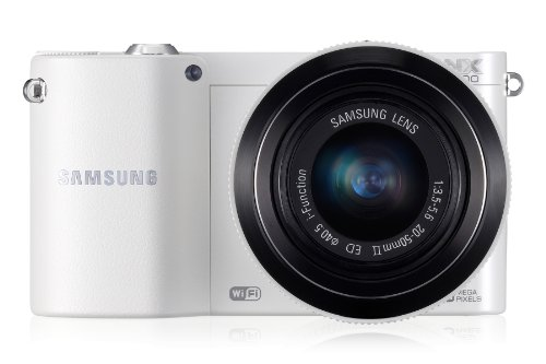 Samsung NX 1000 + 20-50 mm Systemkamera 20.3MP CMOS 5472 x 3648Pixel Weiß - Digitalkameras (20,3 MP, 5472 x 3648 Pixel, CMOS, Full HD, 217,7 g, Weiß)