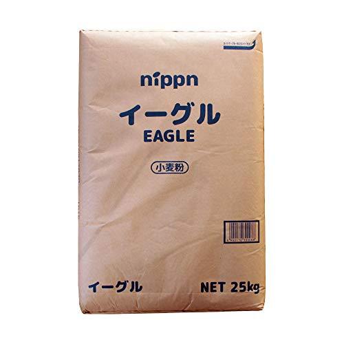 【mamapan】強力粉 イーグル パン用小麦粉 ニップン 業務用 25kg【沖縄は別途追加送料必要】