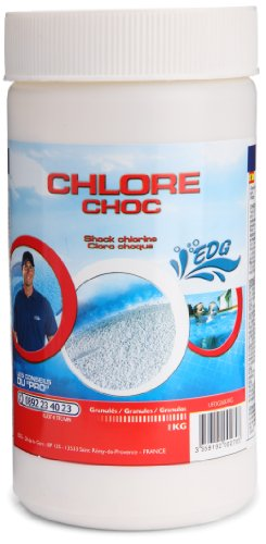 EDG - A0500979 - Jeu de Plein Air - Chlore Choc - Granule - 1 kg
