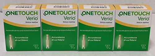 ONETOUCH VERIO - 100 Strisce Reattive per Test della Glicemia - ONE TOUCH