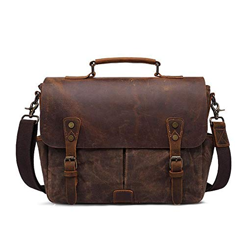 RongDuosi Draagbare Canvas Bag Mannen SLR Camera Bag Schoudertas Heren Schoudertas Outdoor Reistas Waterdichte Handtassen Draagbare Grote Capaciteit 35 * 11.5* H27CM Outdoor rugzak Zwembed