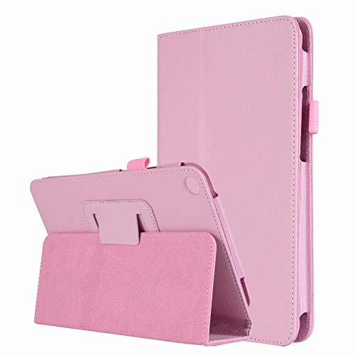 QiuKui Tab Funda para Xiaomi MIPAD 2 MI Pad 2 7.9 '', Flip Stand PU Cuero DE Cuero DE Cuero Start Stand FUT Stand para XIAOMI MI Pad 2 (Color : Pink)