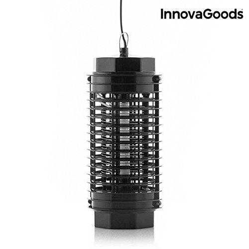 InnovaGoods Lámpara Antimosquitos KL-1500 4W Negro