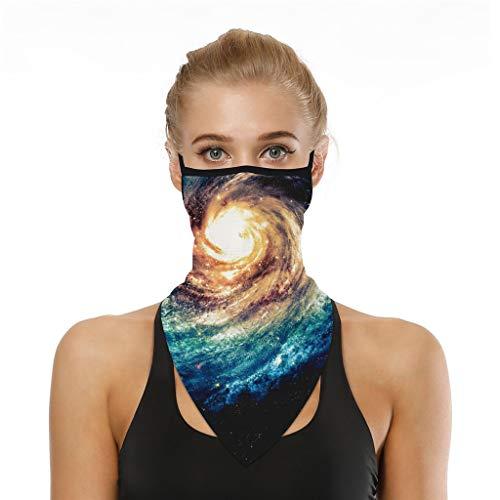 KEERADS - Pañuelo bandana para la cabeza, bandana, para la cabeza, unisex, pañuelo multifunción H Talla única