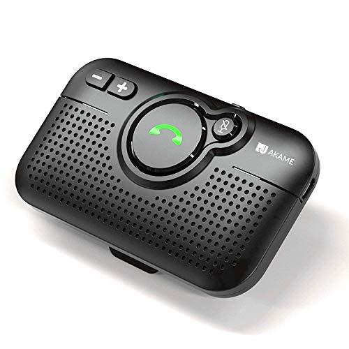Auricolare Bluetooth Auto 5.0 per Google e Siri, Mini Casse Per tuo Smartphone Autonomia 600 Ore 650Mah Batteria