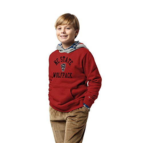 NCAA League Youth North Carolina State Wolfpack Youth Hood, X-Large, True Red
