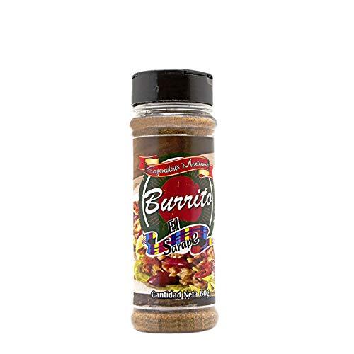 Sazonador de Burritos (Gewürzmischung für Burritos) - El Sarape, 60g