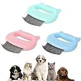 Katzenkamm Für Katzen Und Hunde, Haarentfernung Muschel Kamm Pflege Haarentfernung Reinigungskamm, Effektiver Haarentferner Perfektes Massagewerkzeug Für Katzenhunde 3,54 3,94 Zoll