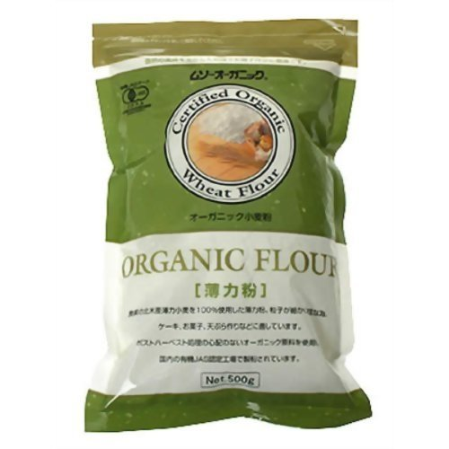 ムソー オーガニック 小麦粉(薄力粉) 500g [その他] ×2セット