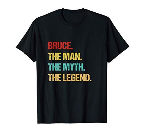 Mens Bruce Name Gift T-Shirt