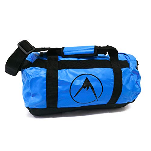 Psychi Outdoor Luggage Duffel Bag Backpack Holdall For Gym Sport Travel (Blue, 25L)