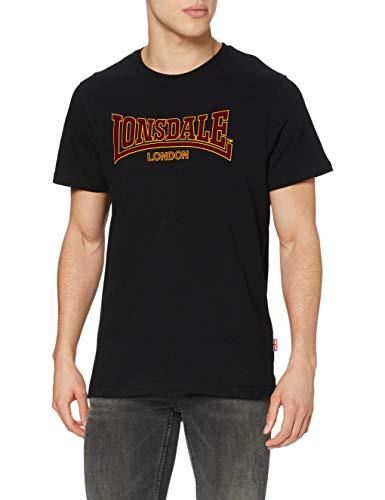 Lonsdale T-Shirt Classic Slimfit Maglia a Maniche Lunghe para Hombre