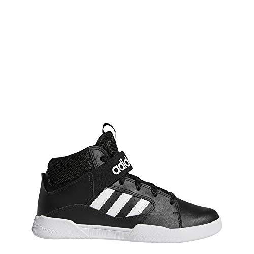 adidas VRX Mid Skateboardschuhe, Schwarz (Negbás/Ftwbla/Ftwbla 000), 38 EU