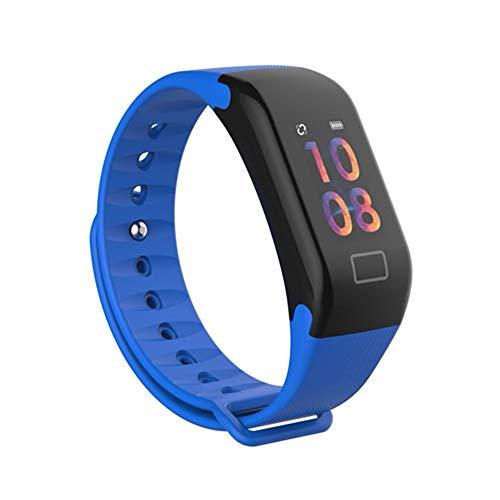 JDTECK Huawei P20 Lite Fitness Bracelet, podómetro Smartwatch con transmisor Bluetooth, desbloqueo de Huellas Dactilares, rastreador Impermeable para Ejercicios, Compatible con su Huawei P20 Lite