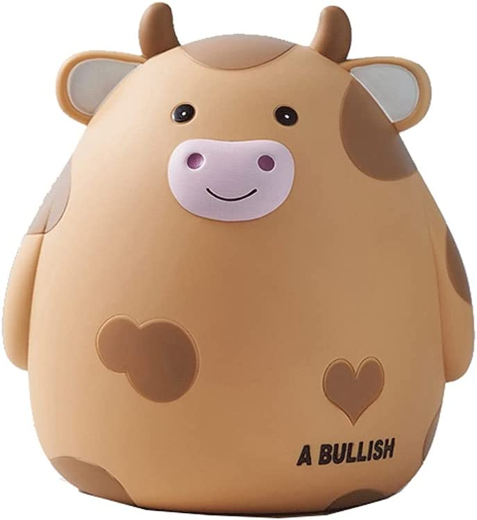 ZSM Money Bank Cow Coin Piggy Bombing free shipping In stock Cut Capacity Large