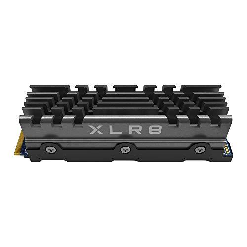 PNY XLR8 CS3040 M.2 NVMe Gen4 x4 Internal Solid State Drive (SSD) mit Heatsink 2TB, Lesegeschwindigkeit bis zu 5600 MB/s, Schreibgeschwindigkeit bis zu 4300 MB/s, M280CS3040HS-2TB-RB