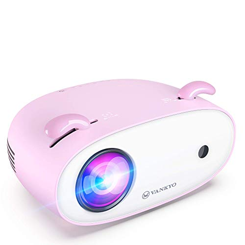 VANKYO Miracle 120 Mini Projector for Outdoor Movies, Supports 1080P 300'' Display, Portable Projector Compatible with TV Stick, Smartphone, Laptop & HDMI, for Kids&Adults