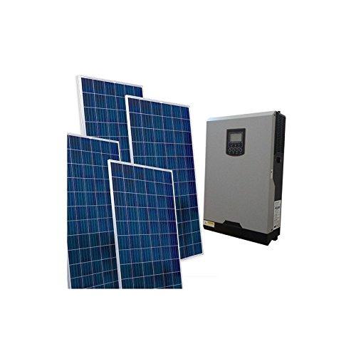 PuntoEnergia Italia - Kit Solar Casa VM2 Base 1.560W Inversor 5000W 48V Controlador 80A MPPT - KCSVM2-1560B-48-5000