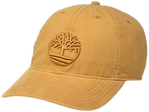 Timberland Herren Cotton Canvas Baseball Cap, weizenfarben, Einheitsgröße