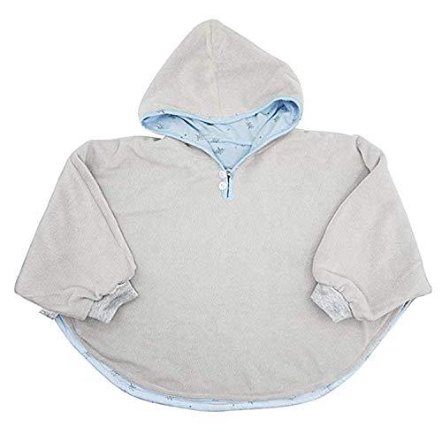 TSWRK Baby's Double-Side Wear Cape Coat Snowsuit Warm Poncho for...