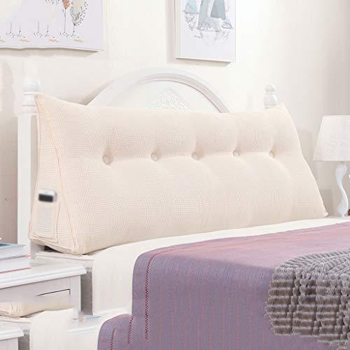 Read About HYBB Sofa Bed Large Triangular Cushion,Detachable Tatami Reading Backrest Cushion,Size:15...