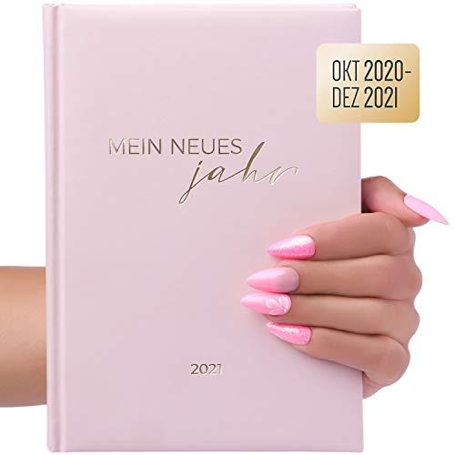 Terminplaner, Terminkalender A5 Oktober 2020 – 2021 Dezember für Privat, Nagelstudio, Kosmetik, Friseur, Praxis, Nageldesigner mit Uhrzeit