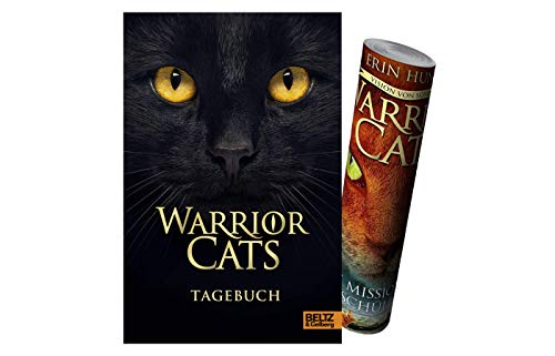 Beltz & Gelberg Warrior Cats – Tagebuch (Gebundenes Buch) + 1x Warrior Cats-Poster by Collectix