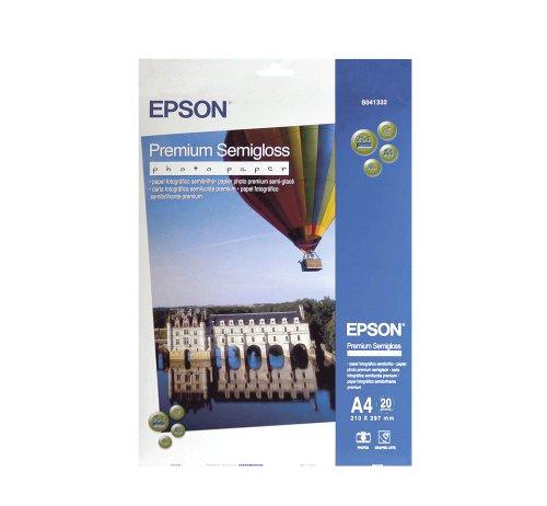 Epson Premium Semigloss Fotopapier S041332 / DIN A4 / 251 g/m² seidenmatt