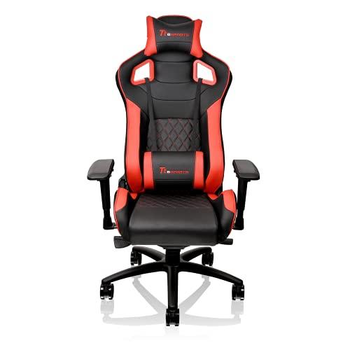 Thermaltake Tt Esports GT Fit F100 Racing Bucket Seat Style Ergonomic Gaming Chair Black/Red