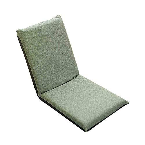 WUTONG Tumbonas para Interiores Cojines para Asientos en el Suelo con Respaldo para el Respaldo Silla Todo en uno cómoda y Plegable Tatami japonés Fácil de Limpiar