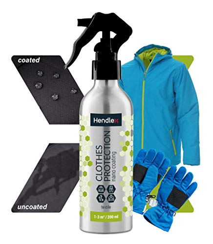 Hendlex Waterproofing Spray for Textile and Fabric Clothes Protector 200ml / 6.7oz