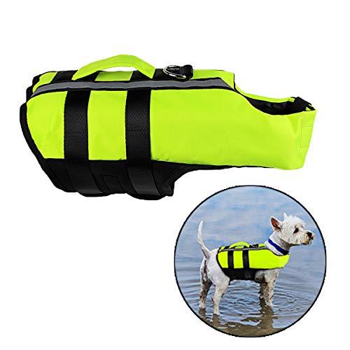 Neusky Pet Hundeschwimmweste (S, Blassgrün)