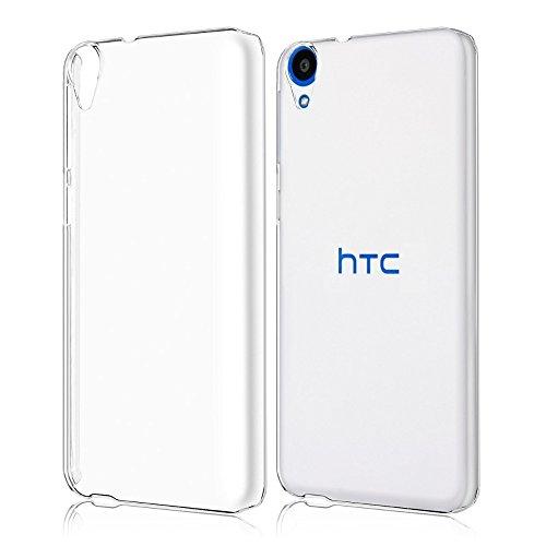 REY Funda Carcasa Gel Transparente para HTC Desire 820 Ultra Fina 0,33mm, Silicona TPU de Alta Resistencia y Flexibilidad