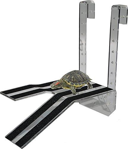 LaBrinx Designs Narrow Hanging Turtle Ramp - Aquatic Reptile Basking Platform