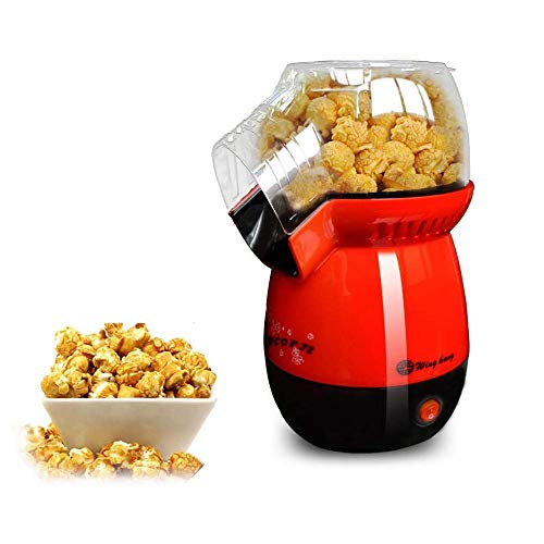 Lowest Price! SMLZV Mini Electric Hot Air Popcorn Maker,1200W Hot Air Popcorn,Electric Popcorn Machi...
