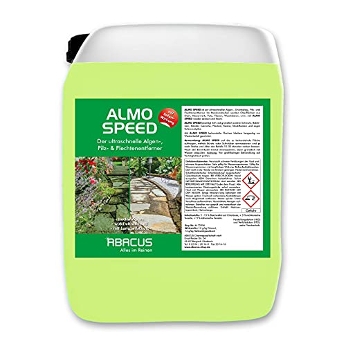 ABACUS 30 kg Almo Speed - Flechtenentferner Algenentferner Algenentferner mit Sofortwirkung