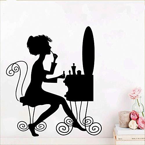 Tianpengyuanshuai Mooie afneembare kunst vinyl muursticker behang decoratie stickers voor woonkamer slaapkamer decoratie