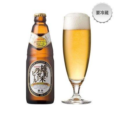 宮下酒造 岡山 独歩ビール 雄町米ラガー 瓶 [ 330ml ]