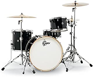 Gretsch Drums Catalina Club Rock 4-Piece Shell Pack with Snare Drum - Piano Black