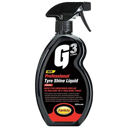 G3 Pro 7212 Tyre Shine Liquid 500ml, 500 ml