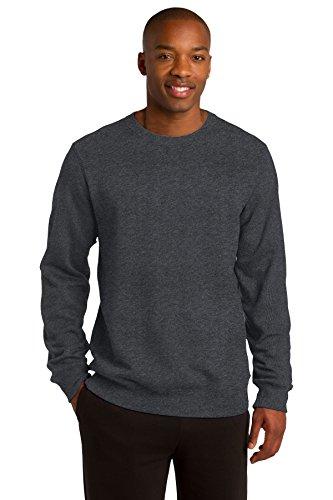 SPORT-TEK Men's Crewneck Sweatshirt XXL Graphite Heather