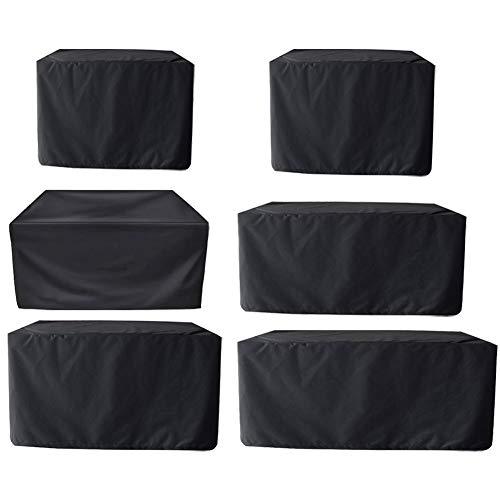 Garden Table Cover, Garden Furniture Cover Waterproof Rectangular Protective Cover for Garden Furniture Tables Sets
