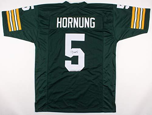 Paul Hornung Autographed Jersey (Packers) - JSA COA!